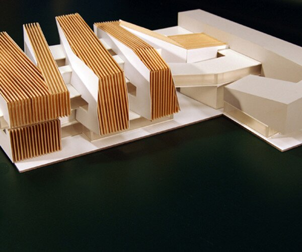 Project of Museum Of Modern Art in Warsaw