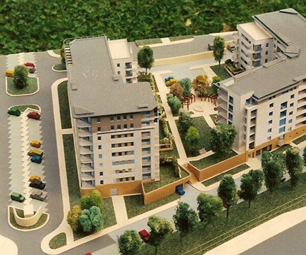 Housing estate Czerwone Maki
