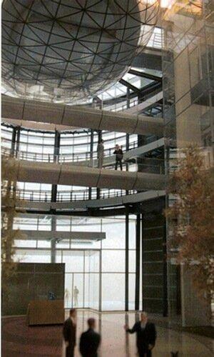 Immeuble Europol Gaz / Varsovie, Pologne