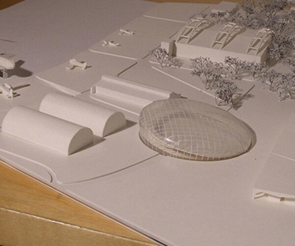 Project of Polish Aviation Museum in Cracow