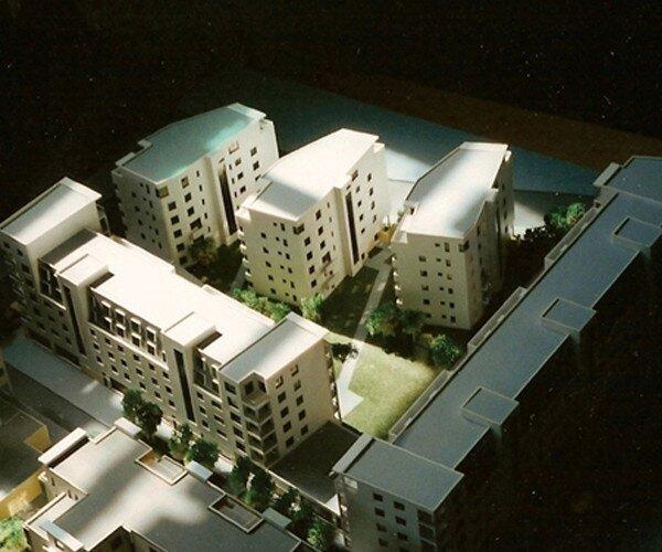 Housing estate in Warsaw